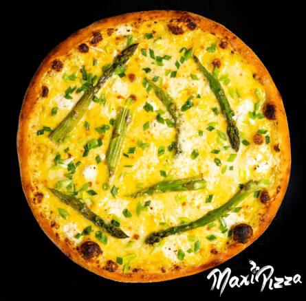 Sparģeļu pica